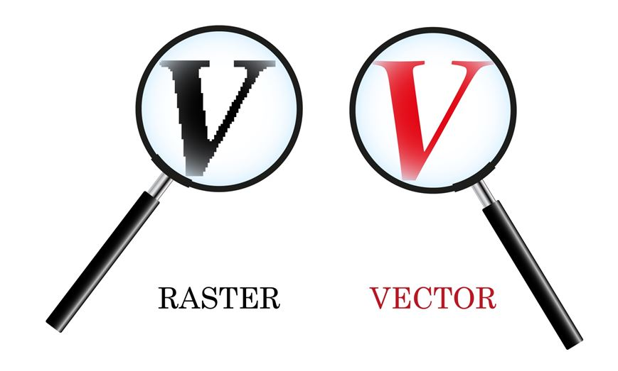 The difference between a vector and a raster file..jpg