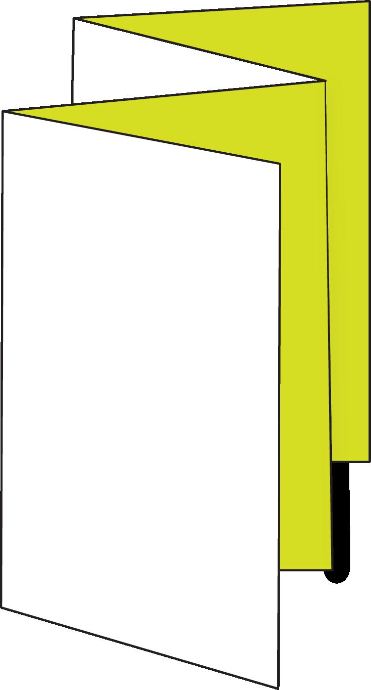 8pp Concertina Fold