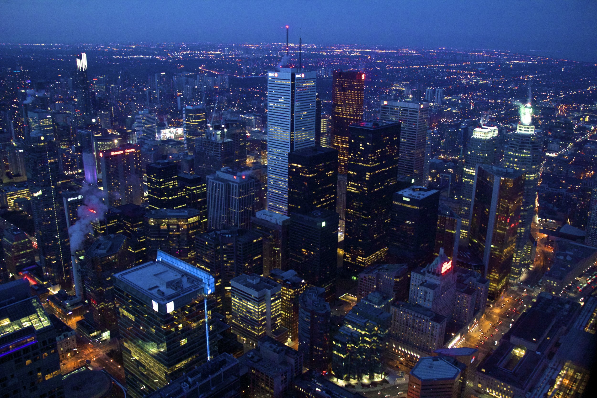 View from CN Tower Toronto Photography 5.jpg