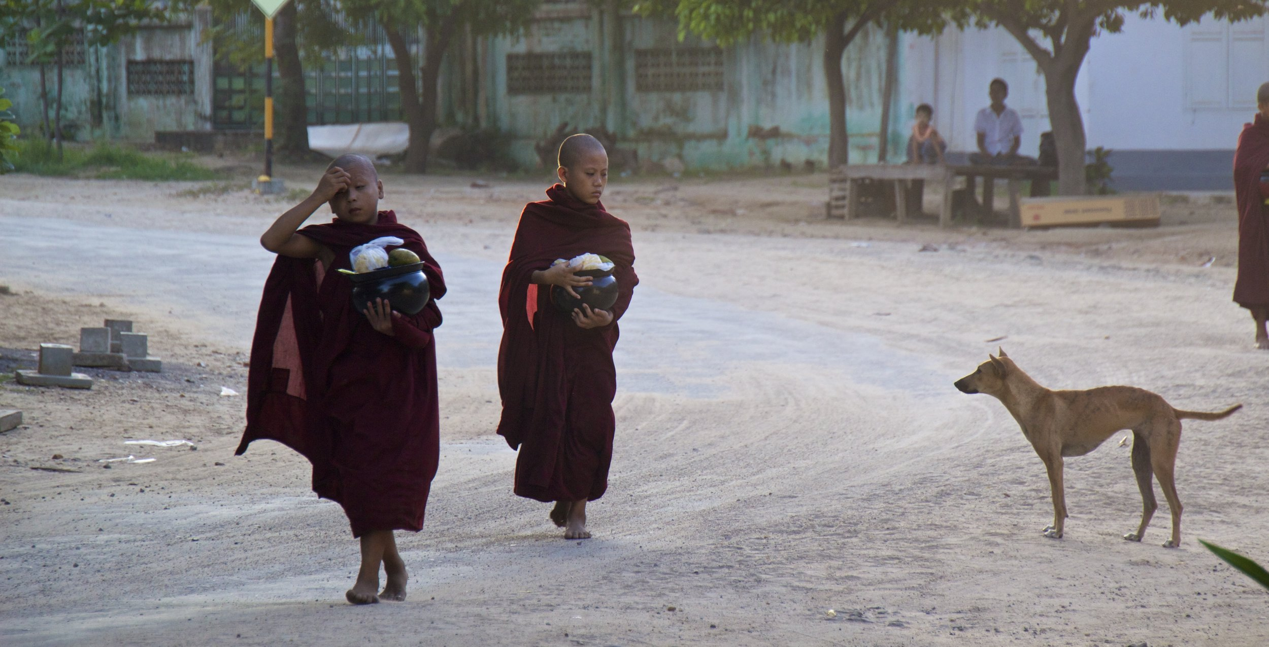 bagan burma myanmar buddhist monks alms 2.jpg