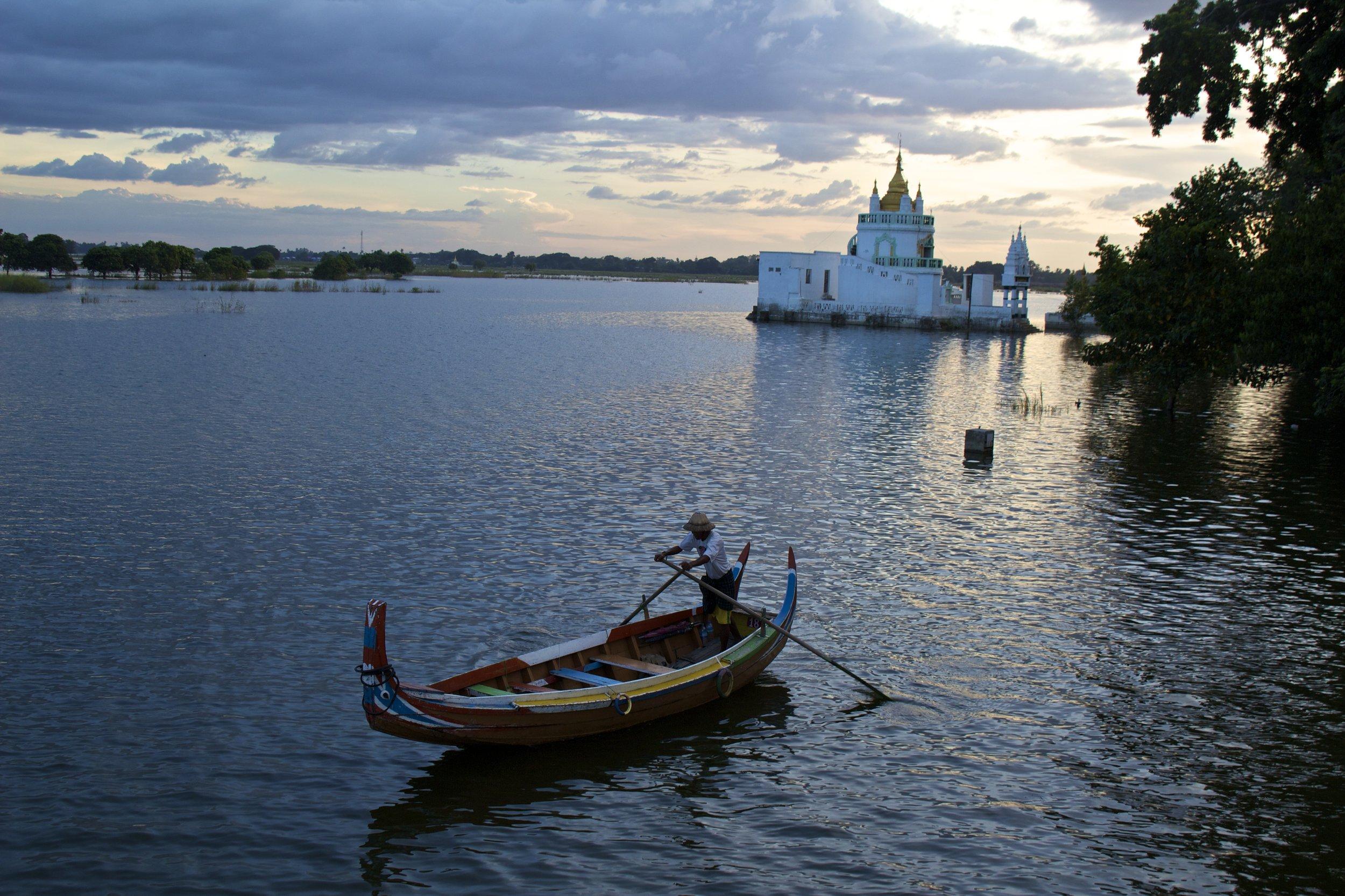 U Bein Bridge Mandalay Burma Myanmar 6.jpg