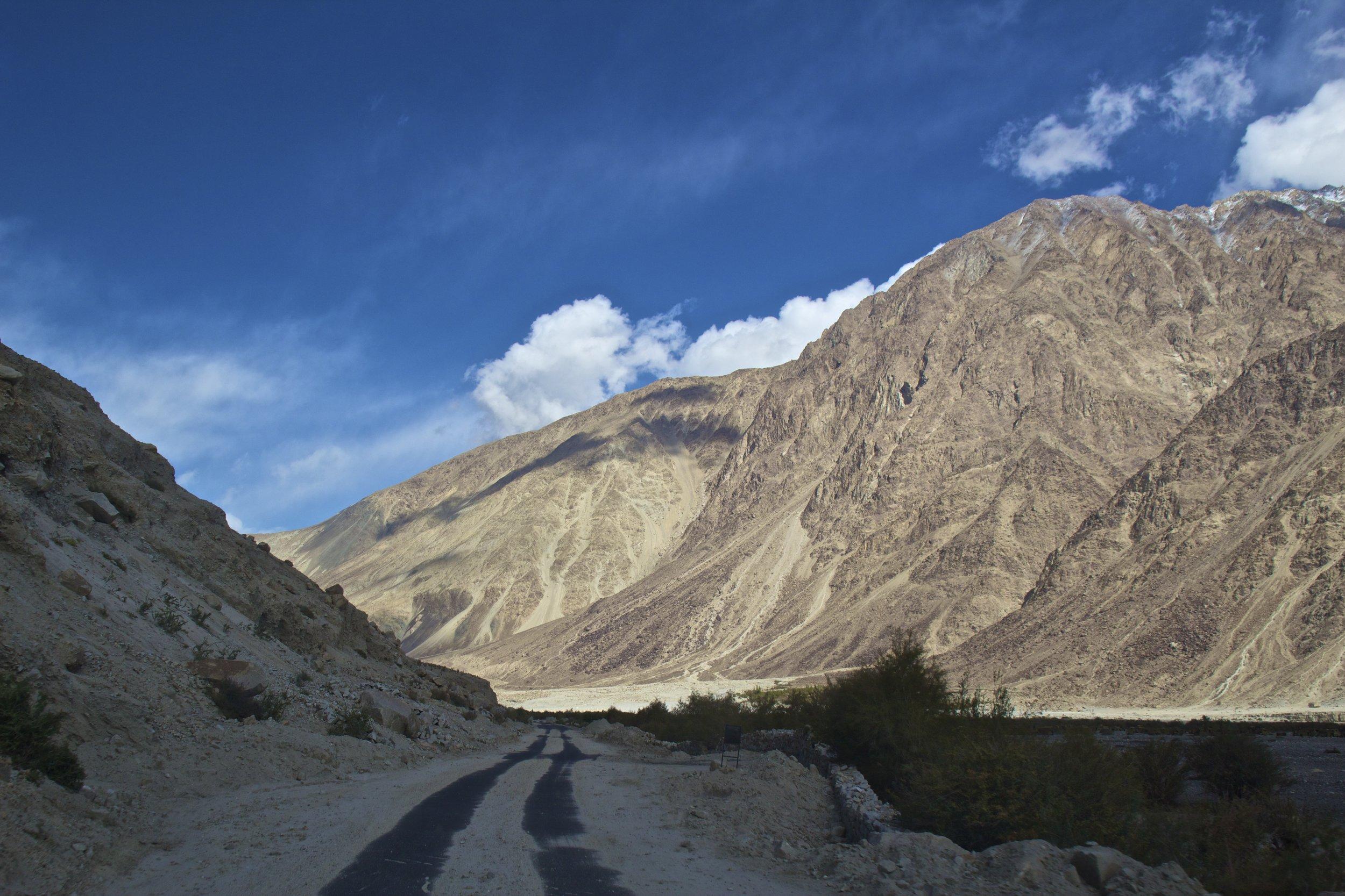 Nubra Valley Ladakh Kashmir Indian Himalayas Roads 1.jpg