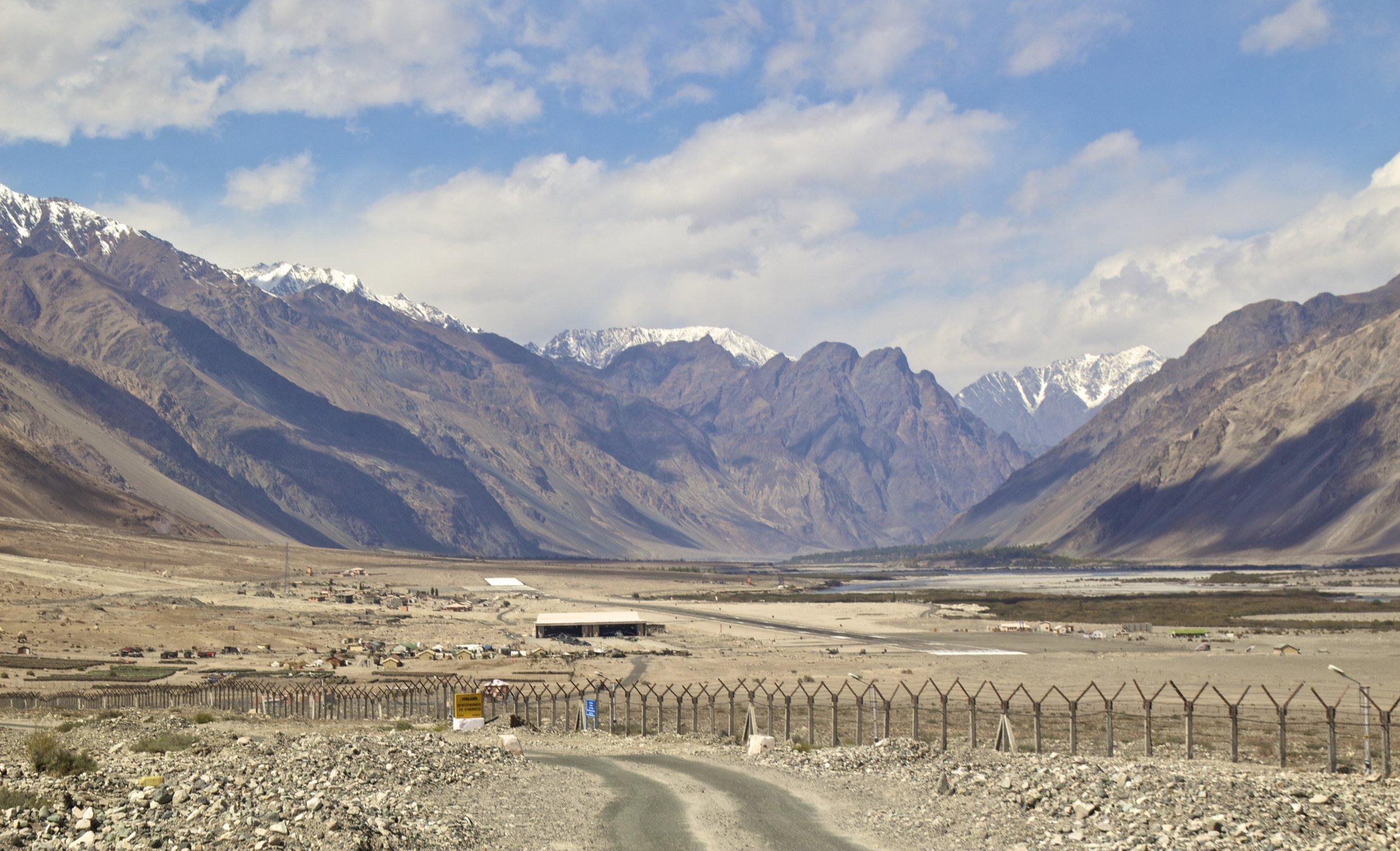 Nubra Valley Ladakh Kashmir Indian Himalayas Roads Military Base 1.jpg