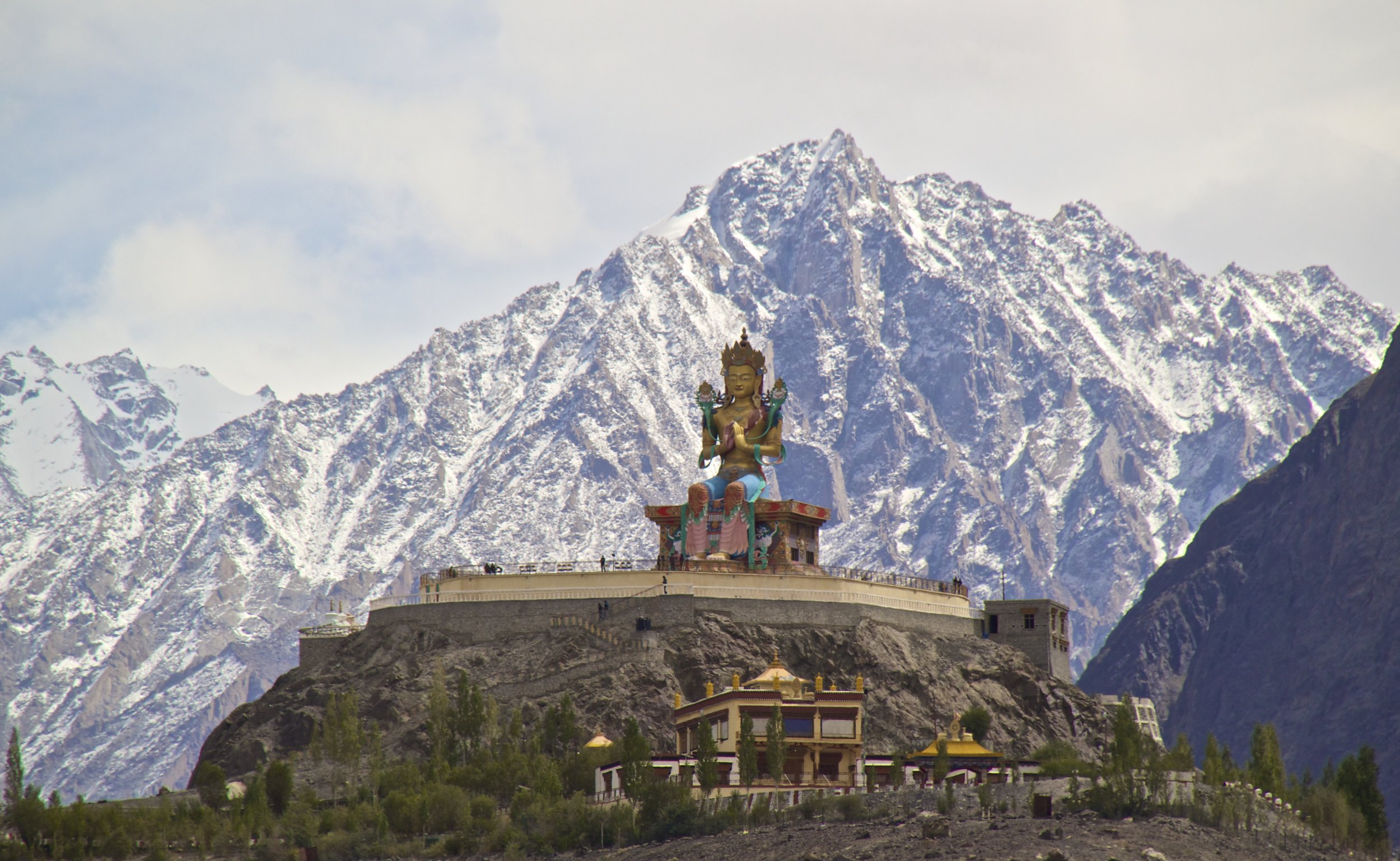 Nubra Valley Ladakh Kashmir Indian Himalayas Monastery 1.jpg