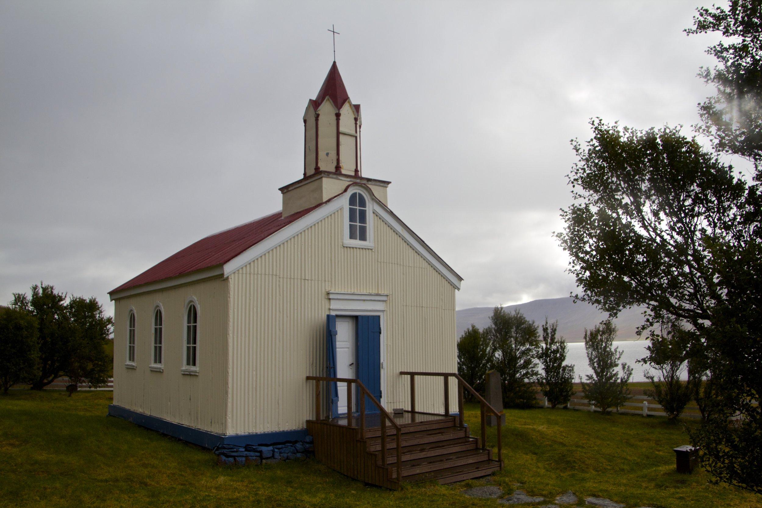 Hrafnesyrikirkja West Fjords Churches 2.jpg