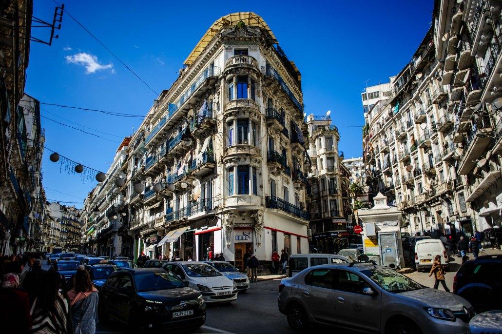 Credit:https://i0.wp.com/www.mahdiaridjphotography.com/wp-content/uploads/2017/03/B%C3%A2timents-du-style-Haussemannien-Maurice-Audin-photos-dalger-Algiers-phototgraphy-Algeria-Photography.jpg?fit=1030%2C685