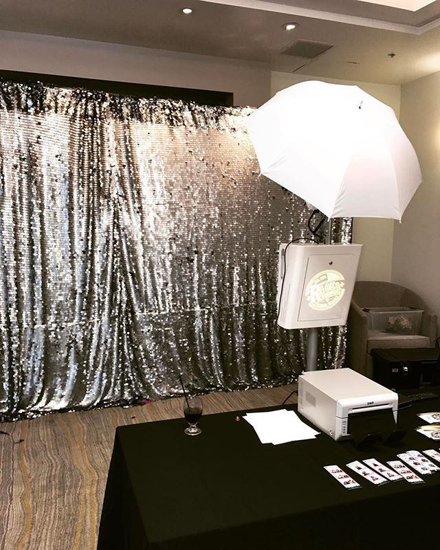 Event we did today for cal state Dominguez. Thanks for having us 🙏. Loving our new Platinum sequin backdrop