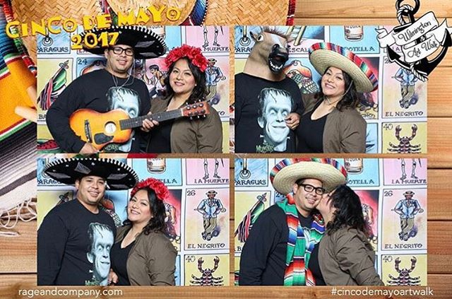 Big thanks to everyone that made it to @wilmingtonartwalk last week and took pictures in our photo booth. @papertiger_23 you are the winner of our exclusive photo booth deal! Please DM or email us to claim your prize 🎊🎉🎊🎉#cincodemayoartwalk