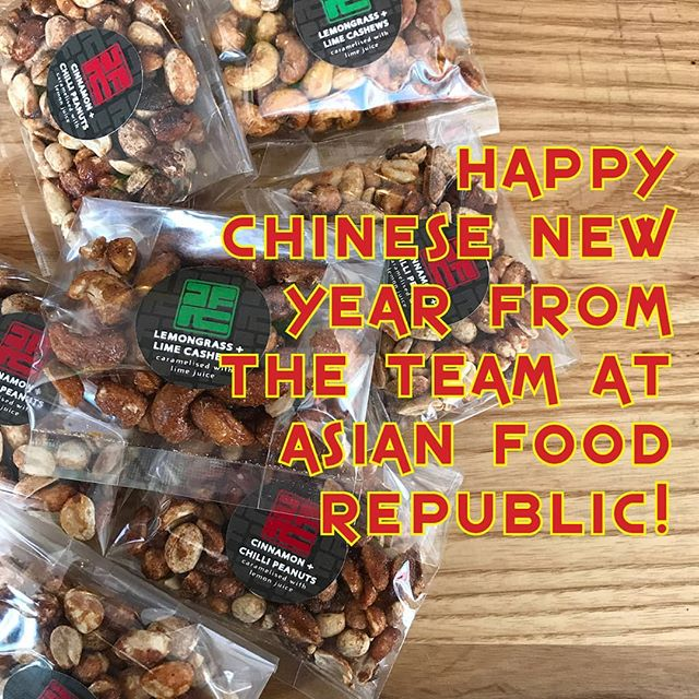 Happy Chinese New Year! This year we celebrate the Year of the Pig, pigs have a beautiful personality and are blessed with good fortune in life. . . . . . . . #food #packagedfood #asianfoodrepublic #asian #fusion #food #foodporn #foodofinstagram #nzmeetsasia #modern #sweettreats #instafood #instagood #yum #foodtogo #chinesenewyear