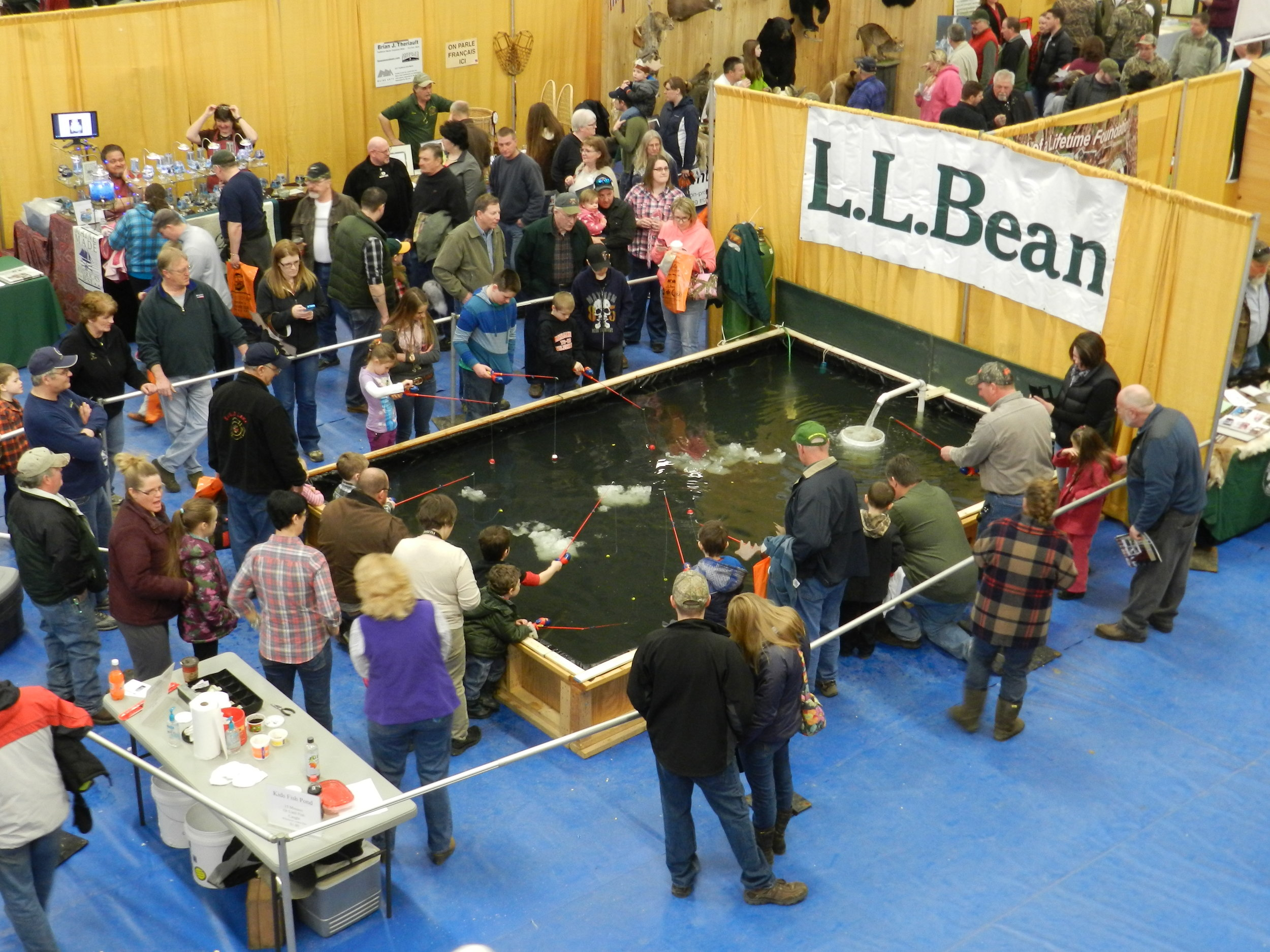 Sportsman Show 2020.Spring Sportsman Show Presque Isle Fish And Game Club