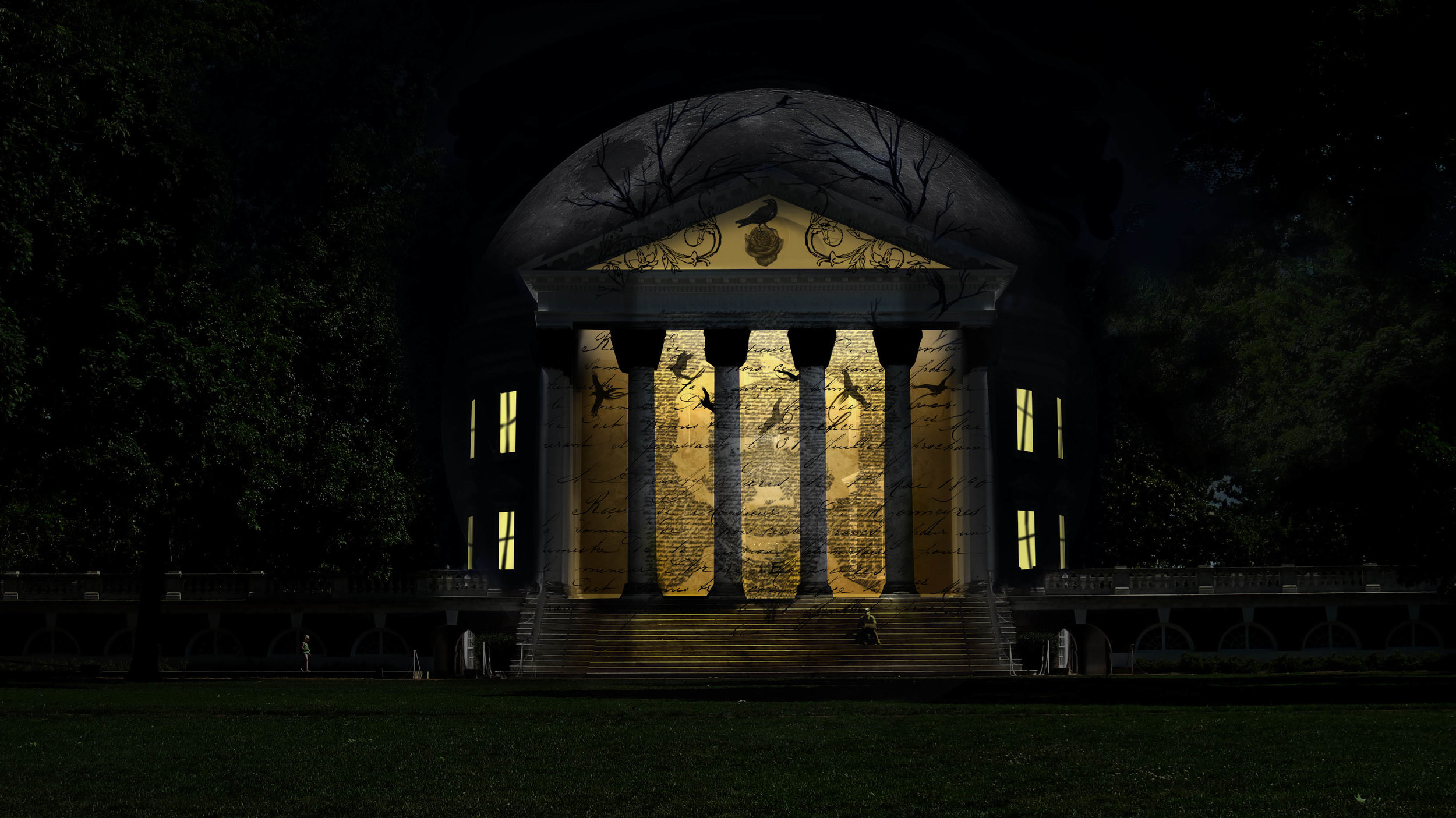 Architectural Projection Pre-viz