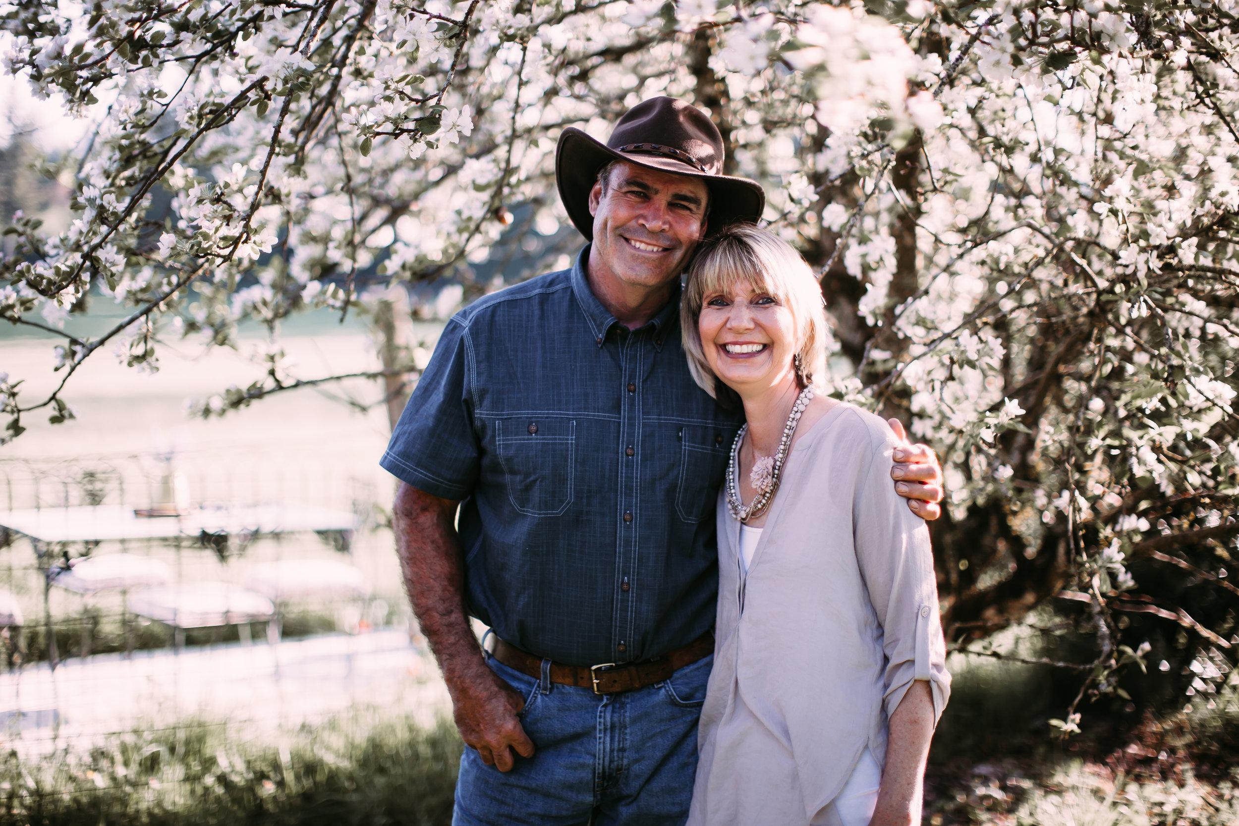 Owners/Hosts  Joel and Julianne Parkin