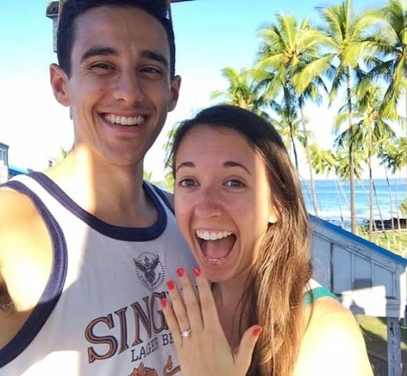 Wishing a big congratulations to @jboyce92 @danielle082 on their engagement! Love all the gorgeous pics from Hawaii!! #LiebrossJewelry