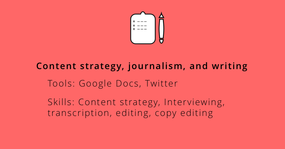 Writing and Journalism