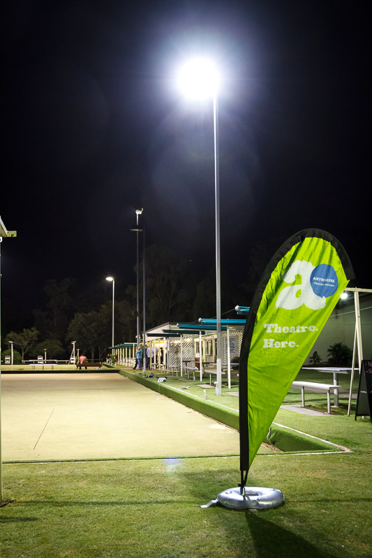 Pictured: Anywhere Festival at the Toowong Bowls Club. Picture Credit Geoff Lawrence, Creative Futures Photography.