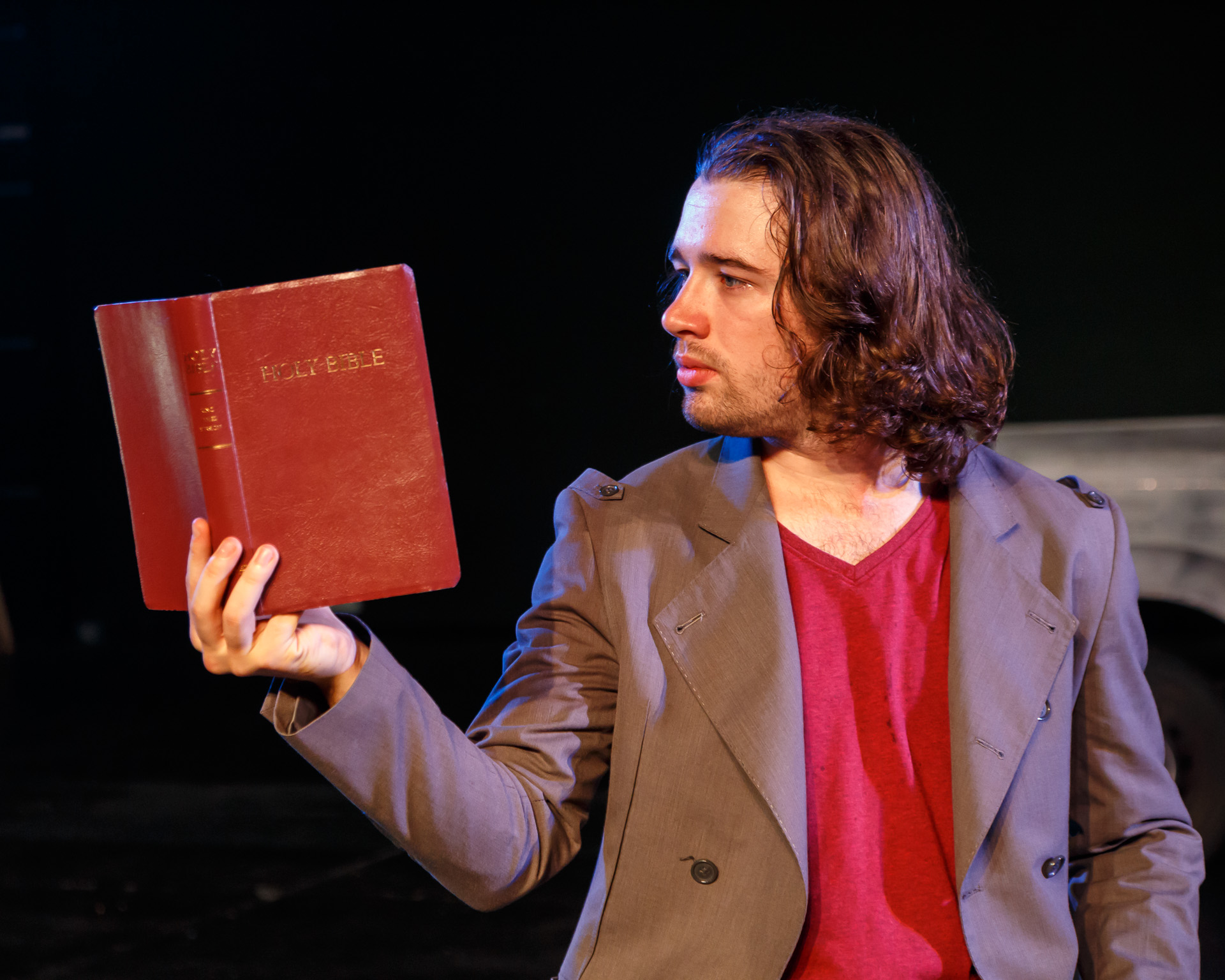 Pictured: Matthew Semple ( The Gospel According to Matthew ). Picture Credit: Geoff Lawrence, Creative Futures Photography