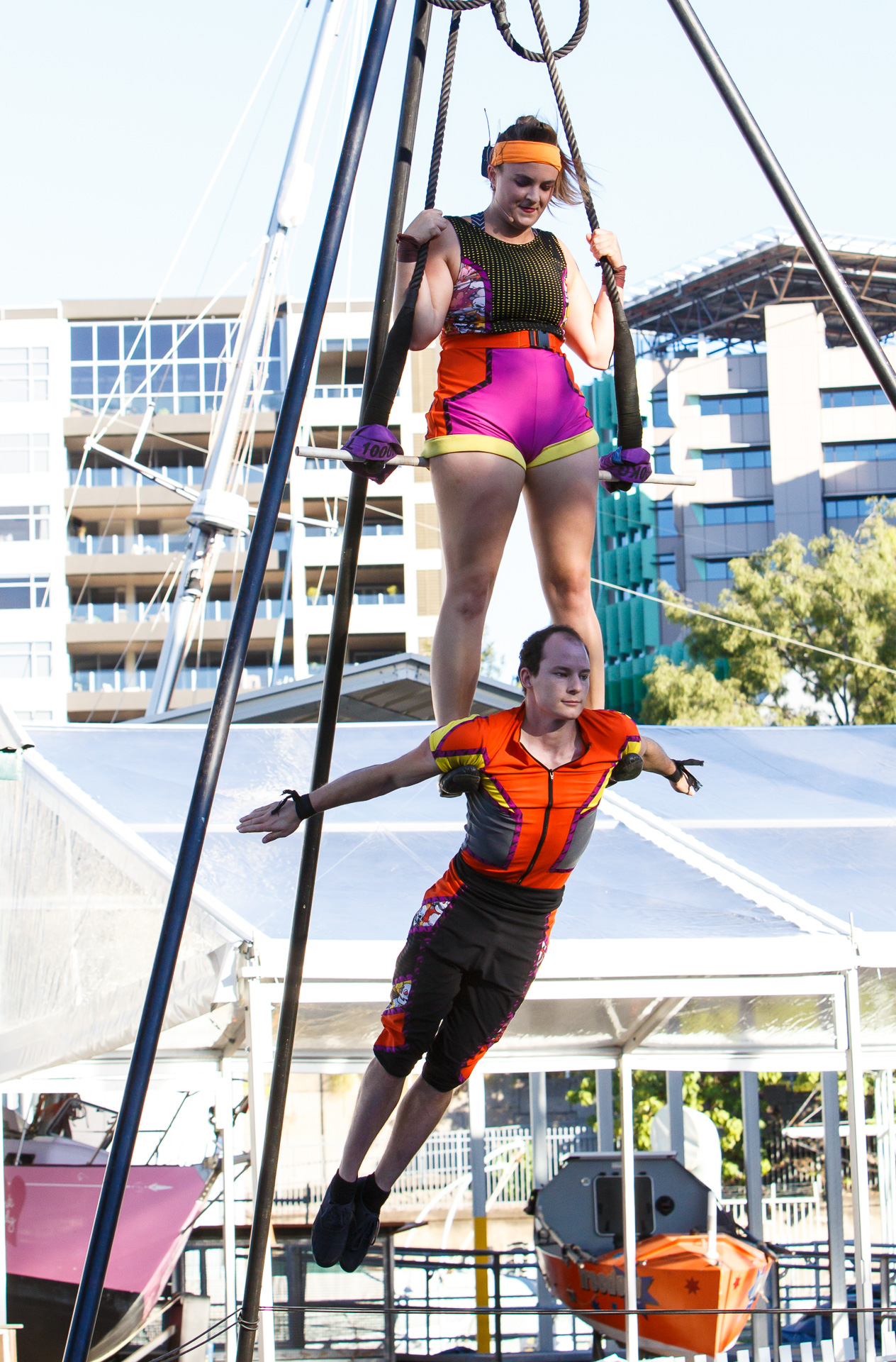 Pictured:Hannah Cryle and Reece Cooper. Picture Credit: Geoff Lawrence,  Creative Futures Photography .