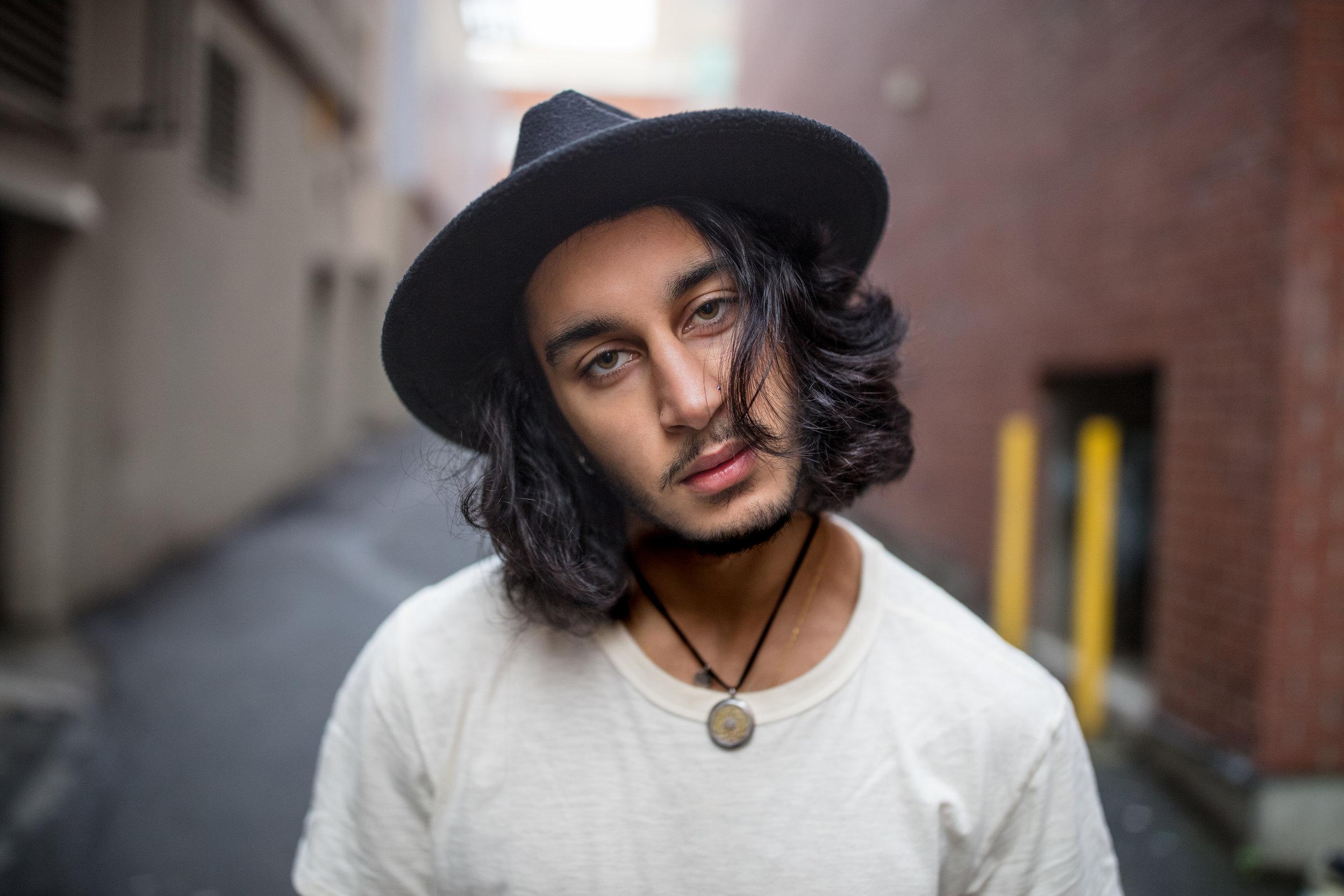 FotoVie John-Evan Snow Victoria BC Portrait Photographer Model Shaq Shah