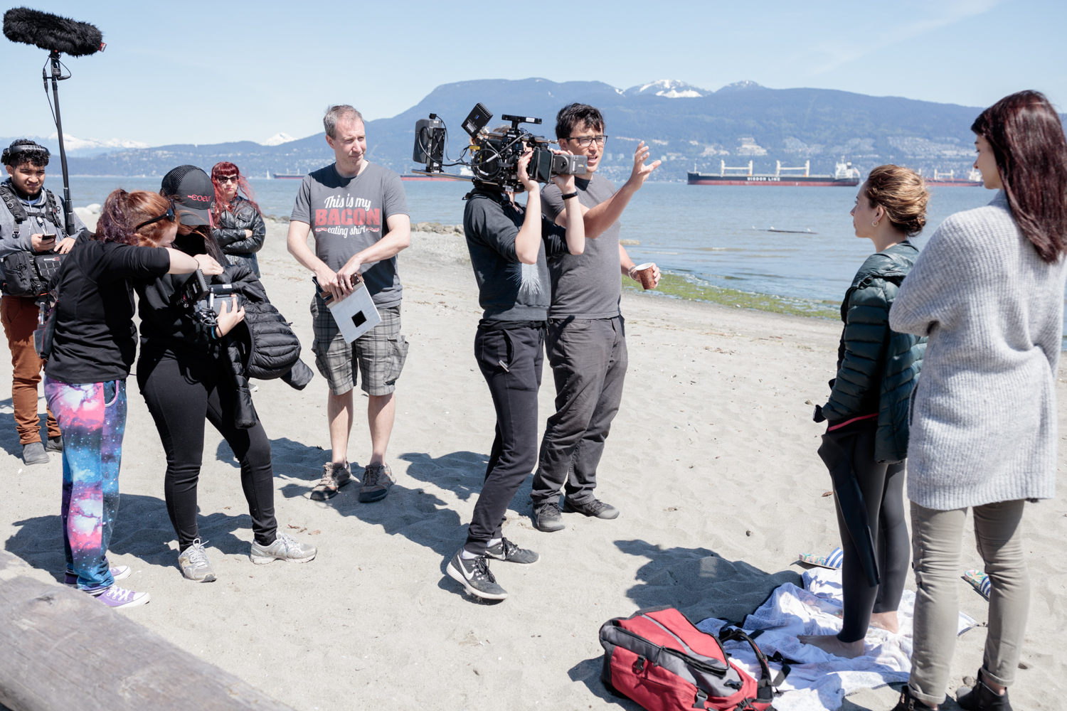FotoVie John-Evan Snow Victoria BC BTS Photographer 13 Miles