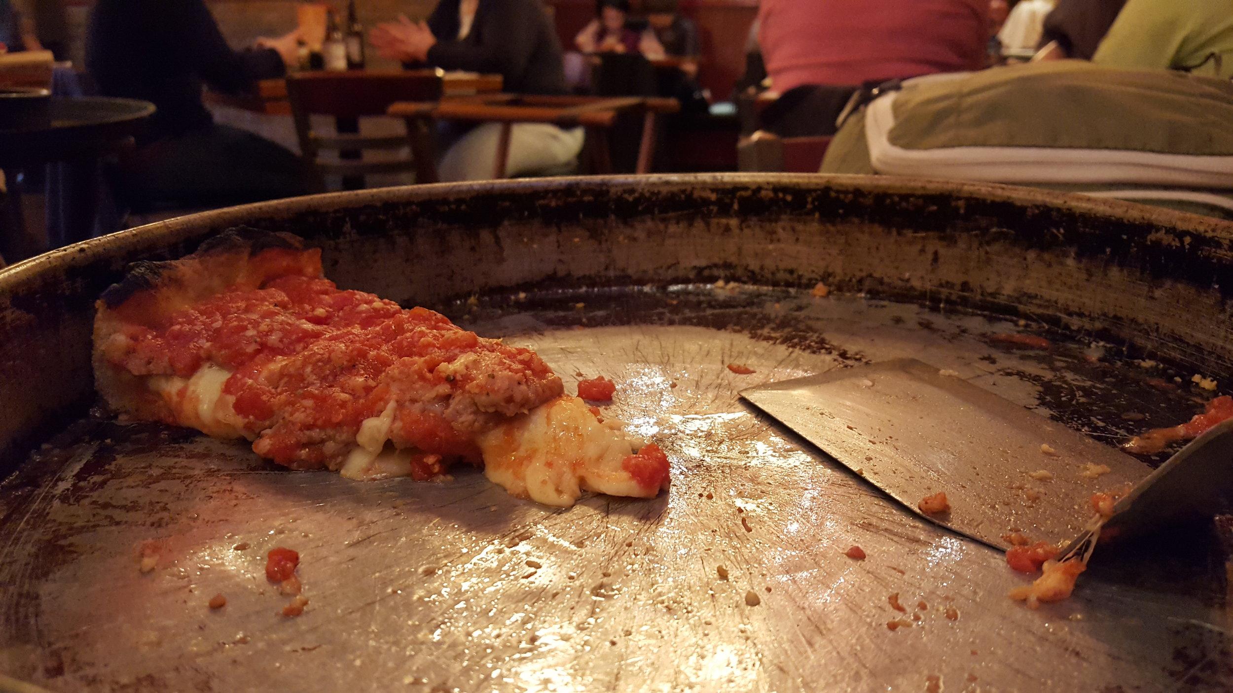 sausage at Lou Malnati's, Chicago, IL