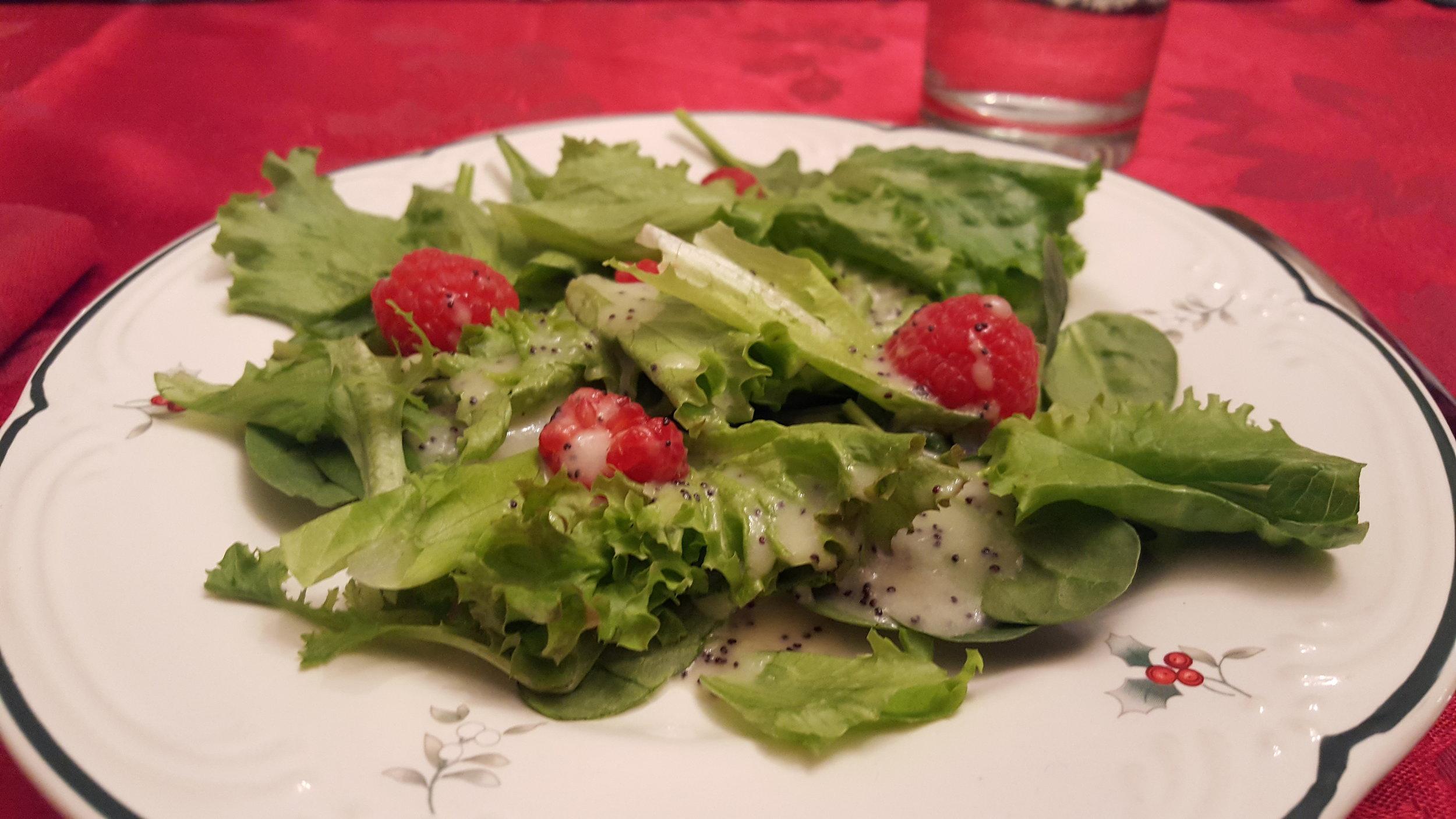 christmas salad chris congdon upstairs project