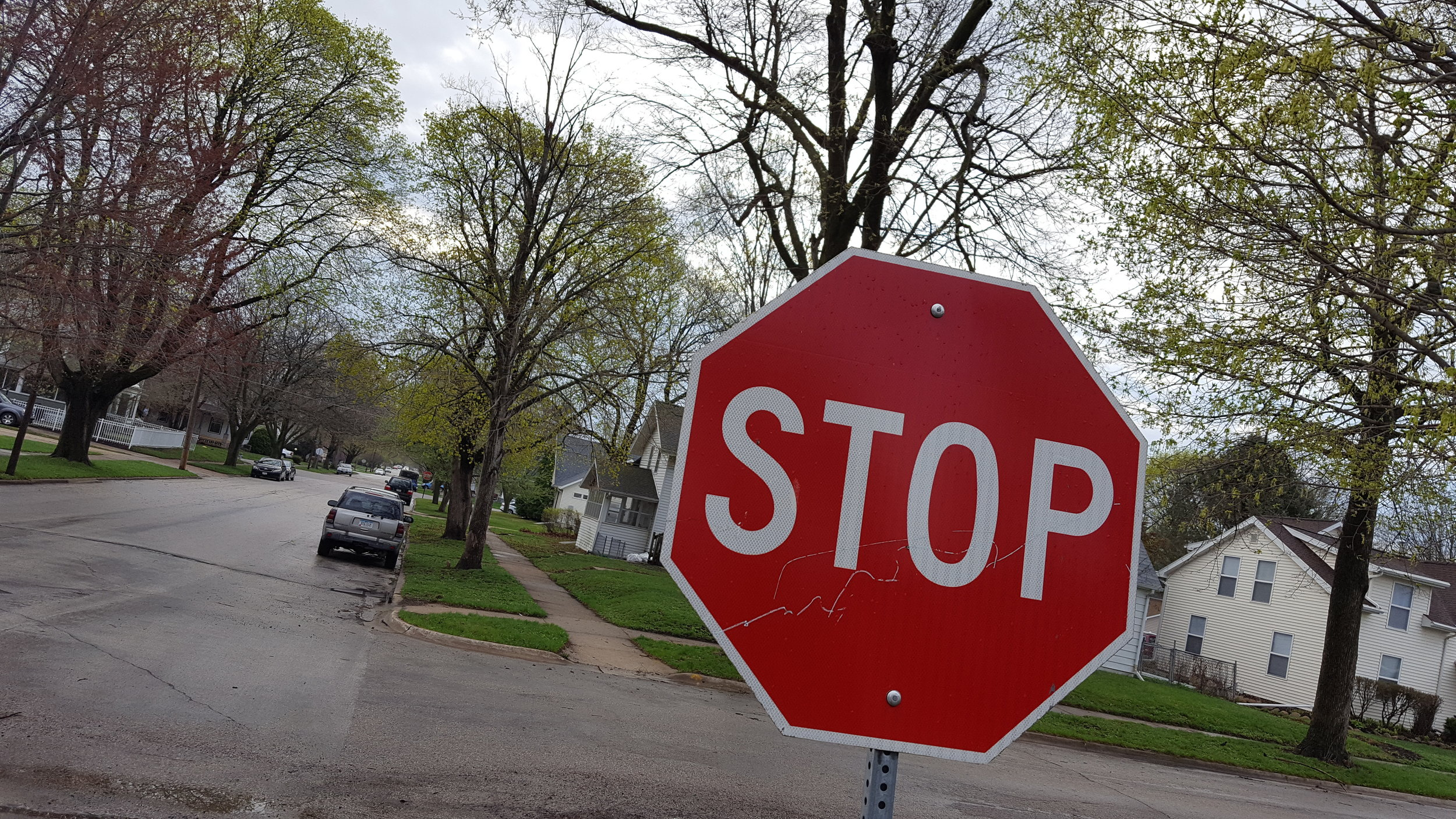 stop sign chris congdon upstairs project