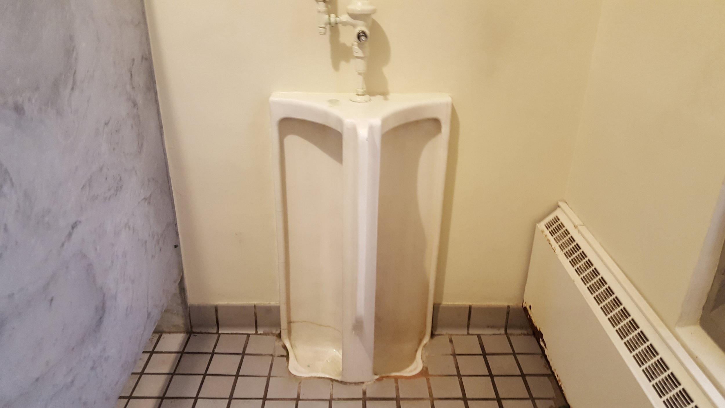 Methodist urinal chris congdon upstairs project