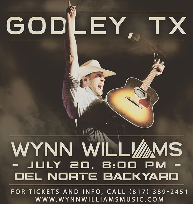 Godley, TX!! We're turning up the heat on 7/20 at @delnortetacos! Our friends of @prairieswitchcs are kicking off the party' Get ready for a big time! #yeahbuddy