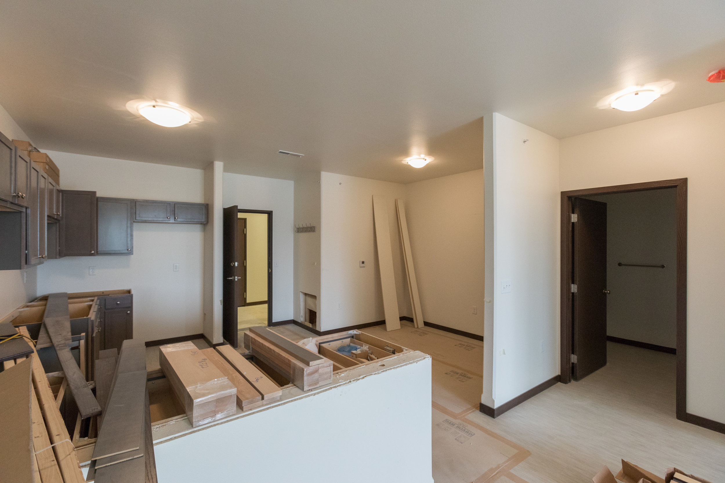 608 M2 Kitchen and Dining Area