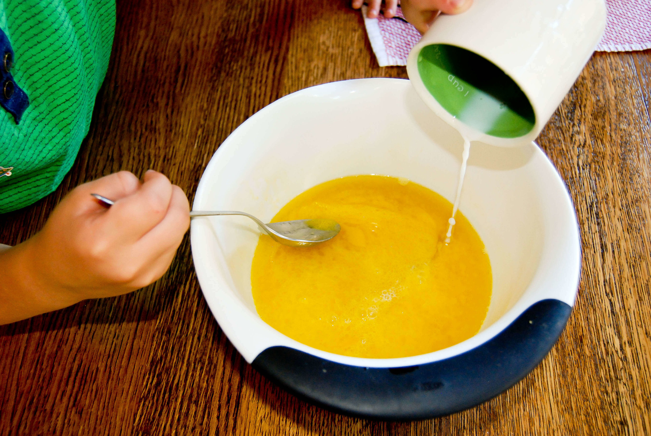 Olive Oil Cake Prep