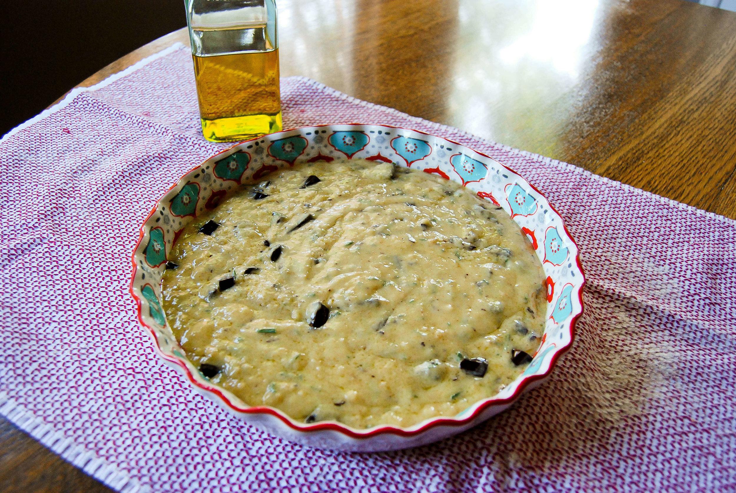 Olive Oil Cake - Pre Bake