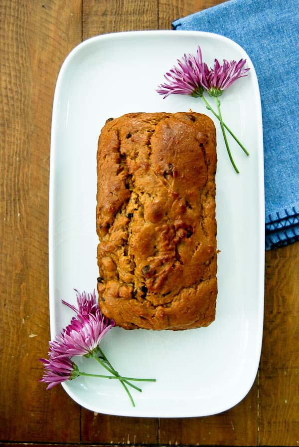 Easy Pumpkin Bread Recipe With Chocolate Chips