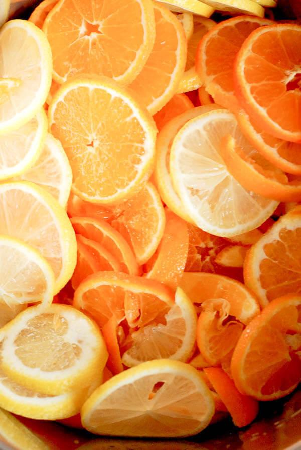 Instant Pot Orange And Lemon Marmalade