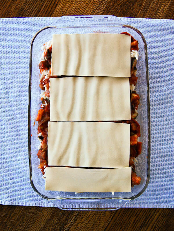 Easy Vegetable Lasagna With Roasted Eggplant And Zucchini