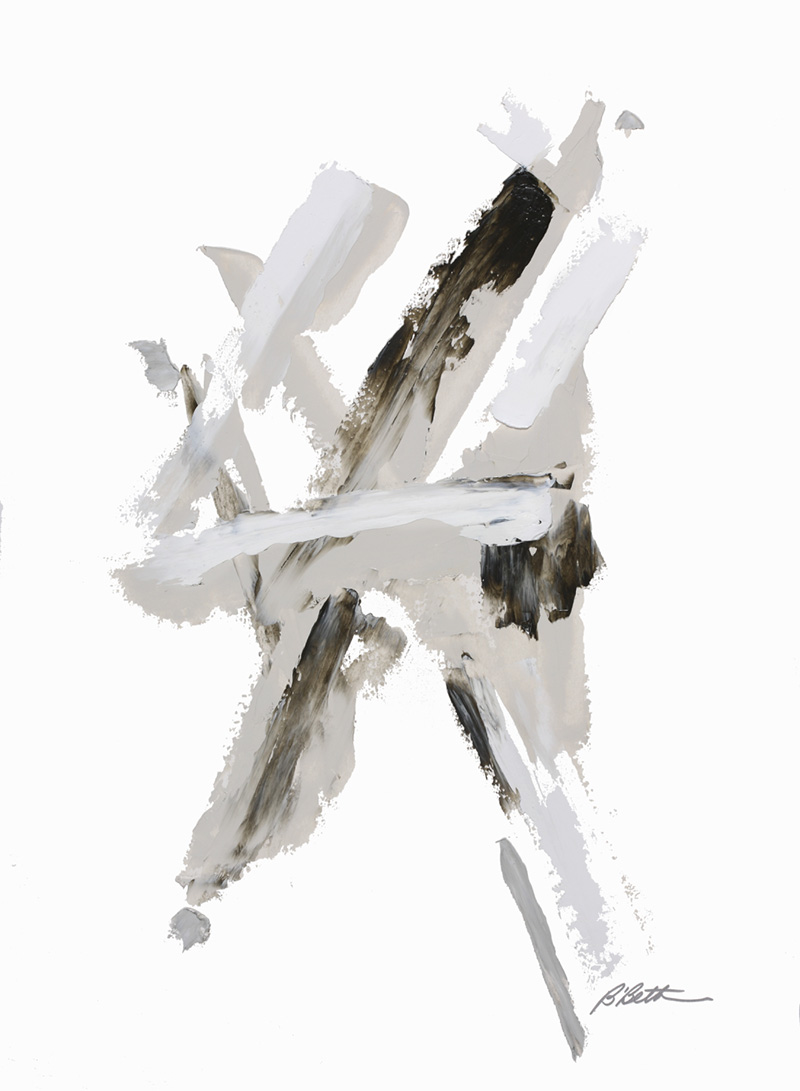 "URBAN IV, 30"" X 22"", OIL ON PAPER"