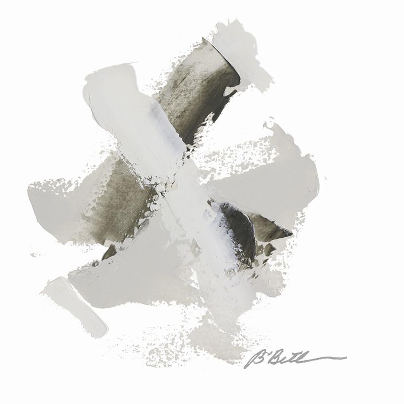 "URBAN VII, 10"" X 10"", OIL ON PAPER"