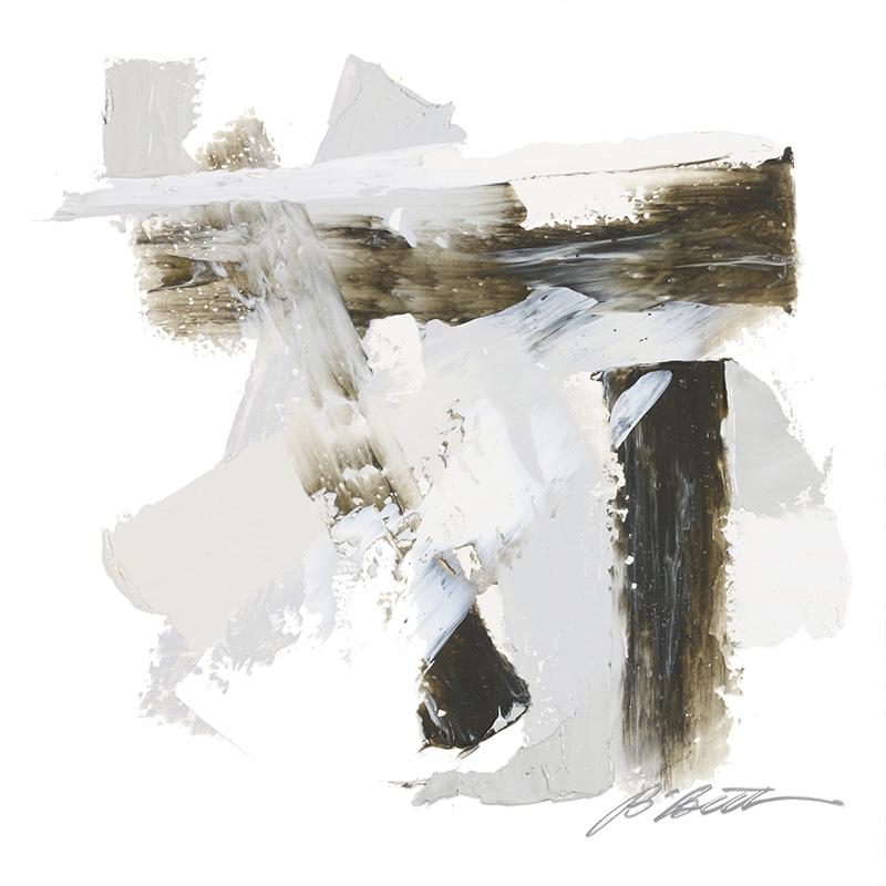 URBAN XII, 12' x 12', OIL ON CANVAS