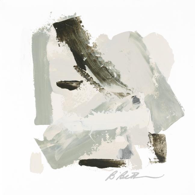 URBAN XIV, 10' x 10', OIL ON PAPER