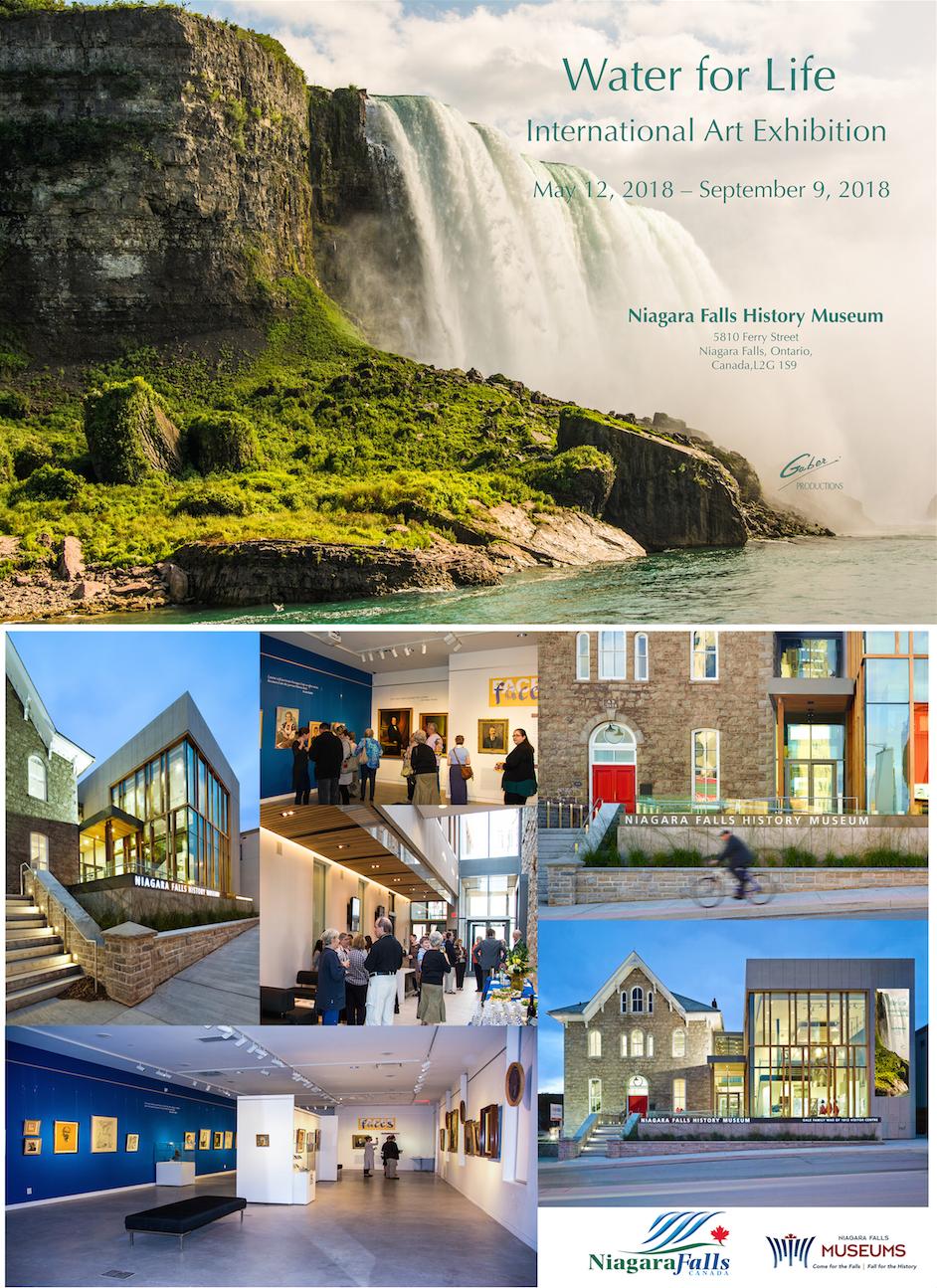 May 12th – September 9th, 2018 Niagara Falls History Museum Ontario, Canada 🇨🇦