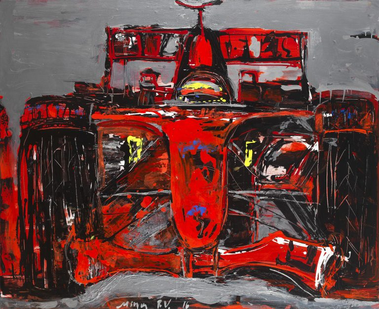 F1 Red by Dr. Mina Valyraki