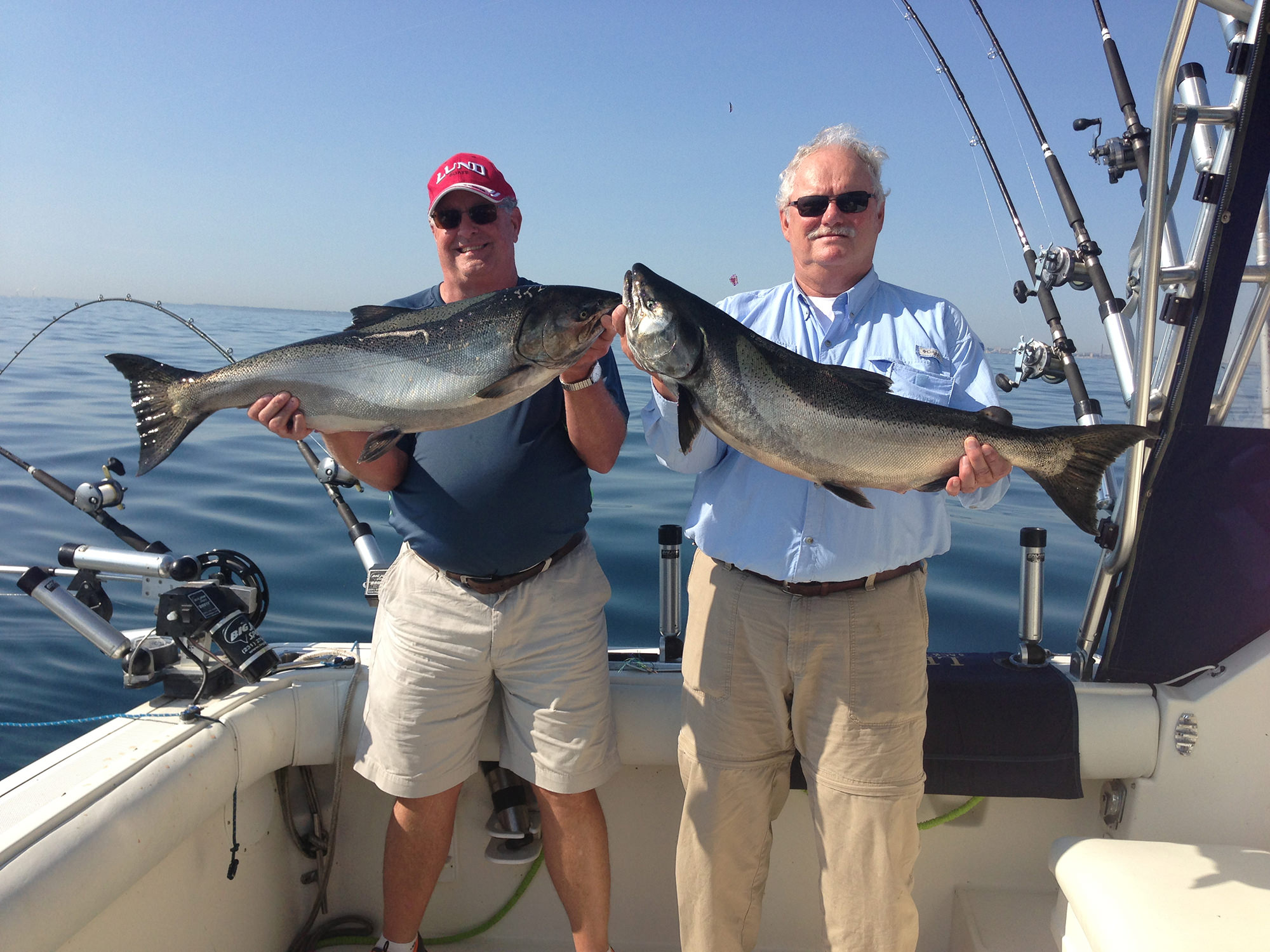 Milwaukee Fishing Charter Summer King Salmon