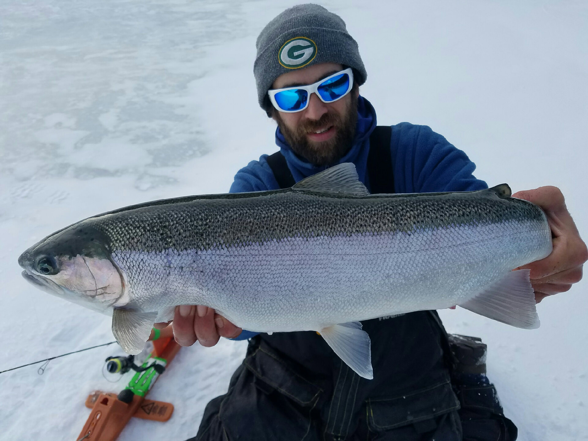 Milwaukee Ice Fishing Steelhead