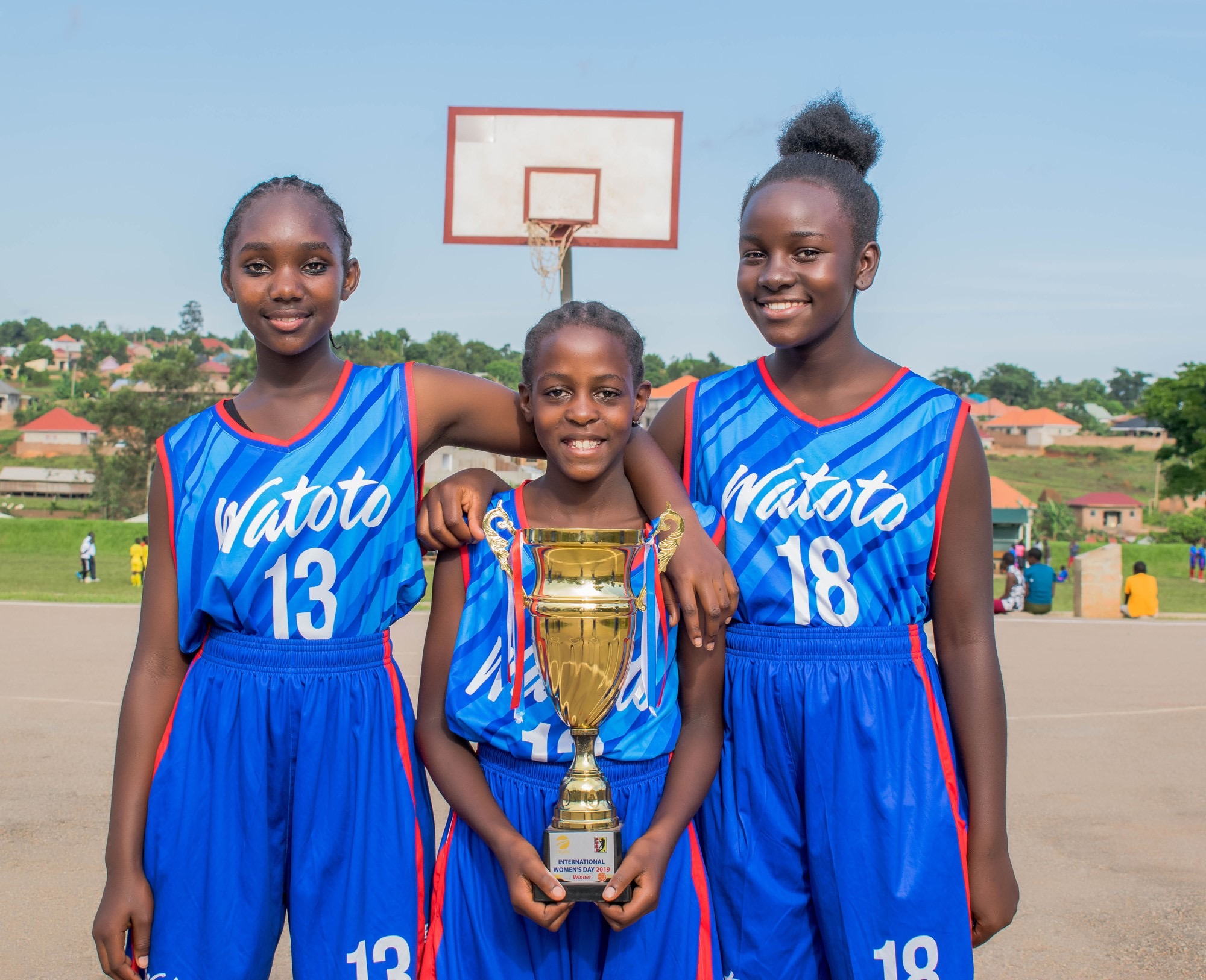 Watoto Girls Basketball Team