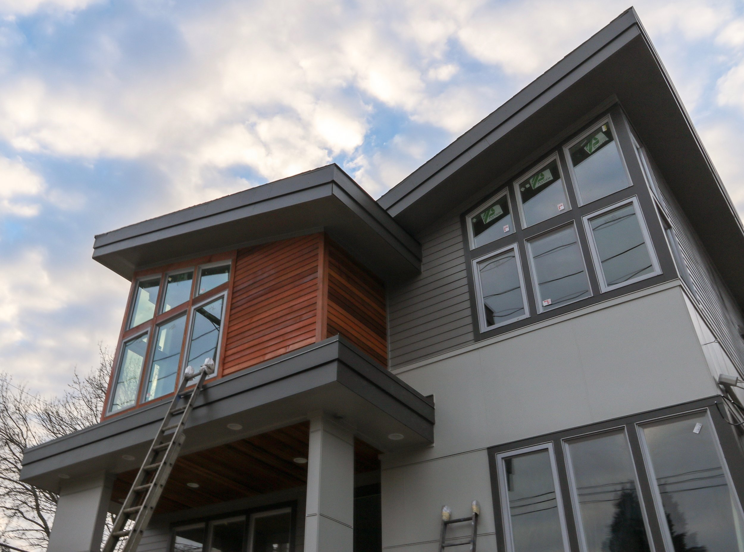 Two contemporary Style Homes in Milwaukie