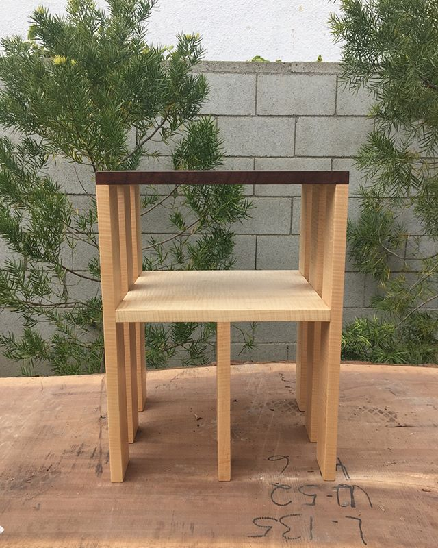 End table or a stool with a cubby. 9 legs because it's better than 4 lol #jonchao