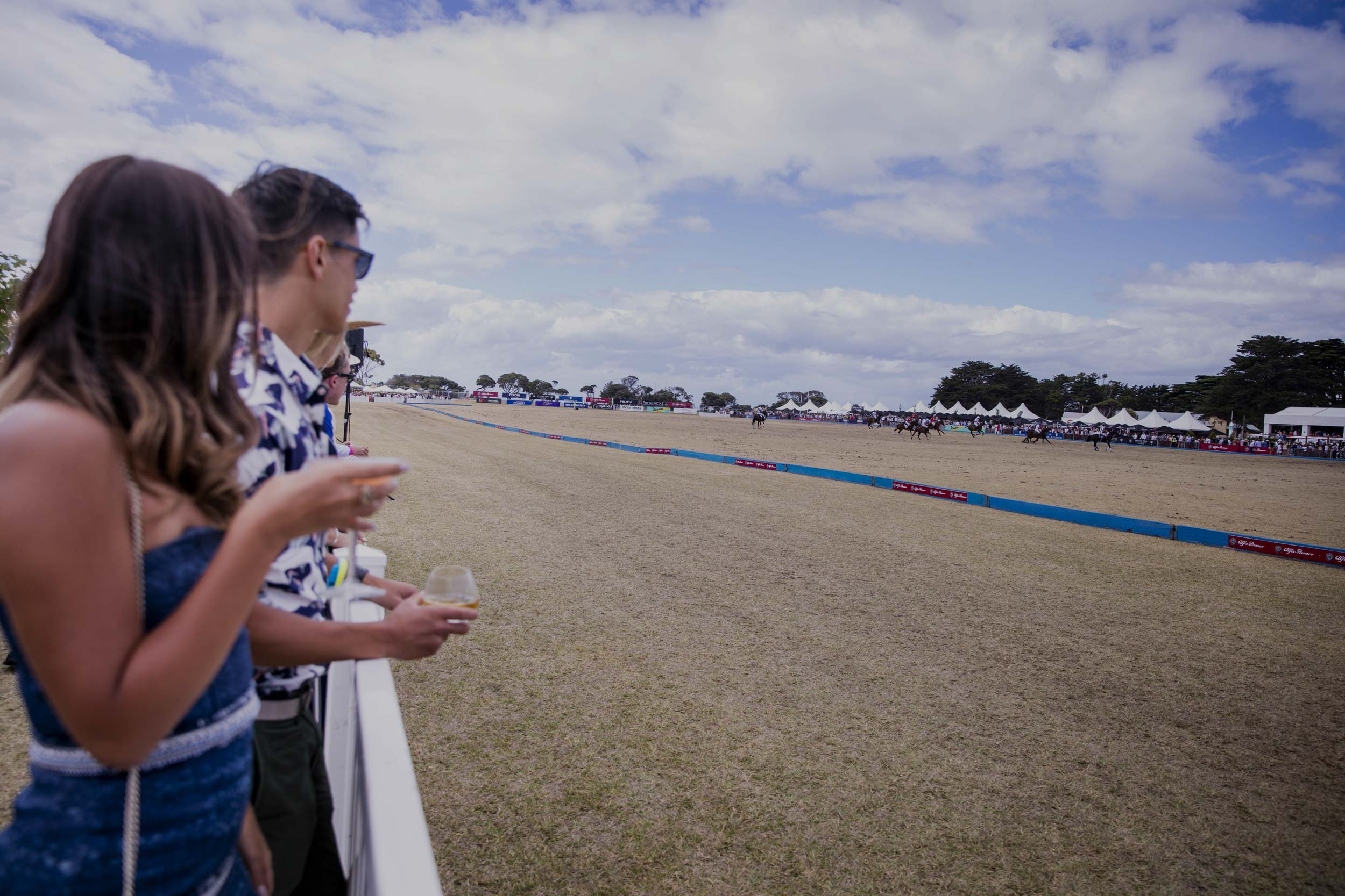 All of our guests thoroughly enjoyed the event and there were many positive comments about your staff and food during the day. Thanks to you, the organisation was seamless.   CATHERINE AND NICK RUTHERFORD PORTSEA POLO 2017