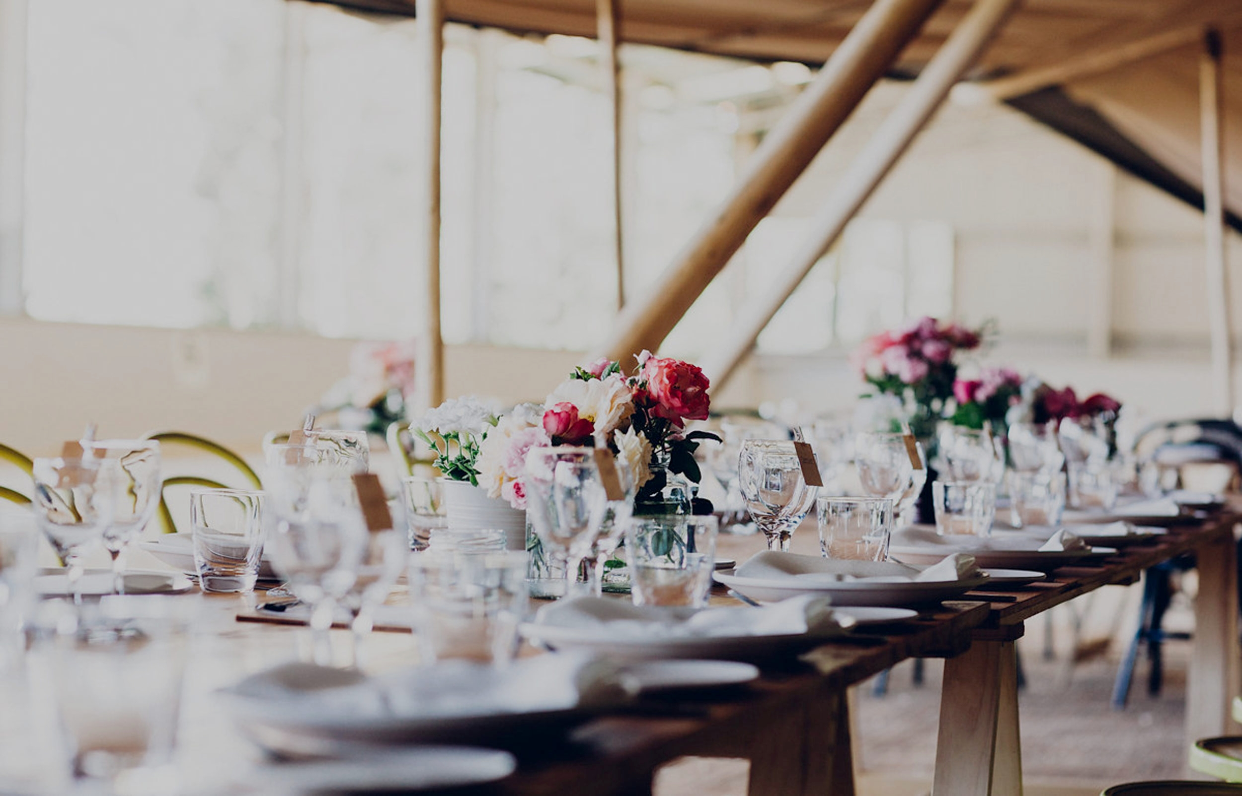 Not only was the food amazing, everyone loved it—your team was super efficient, extremely friendly and made the whole event a family affair!   TRISH, MOTHER OF THE BRIDE