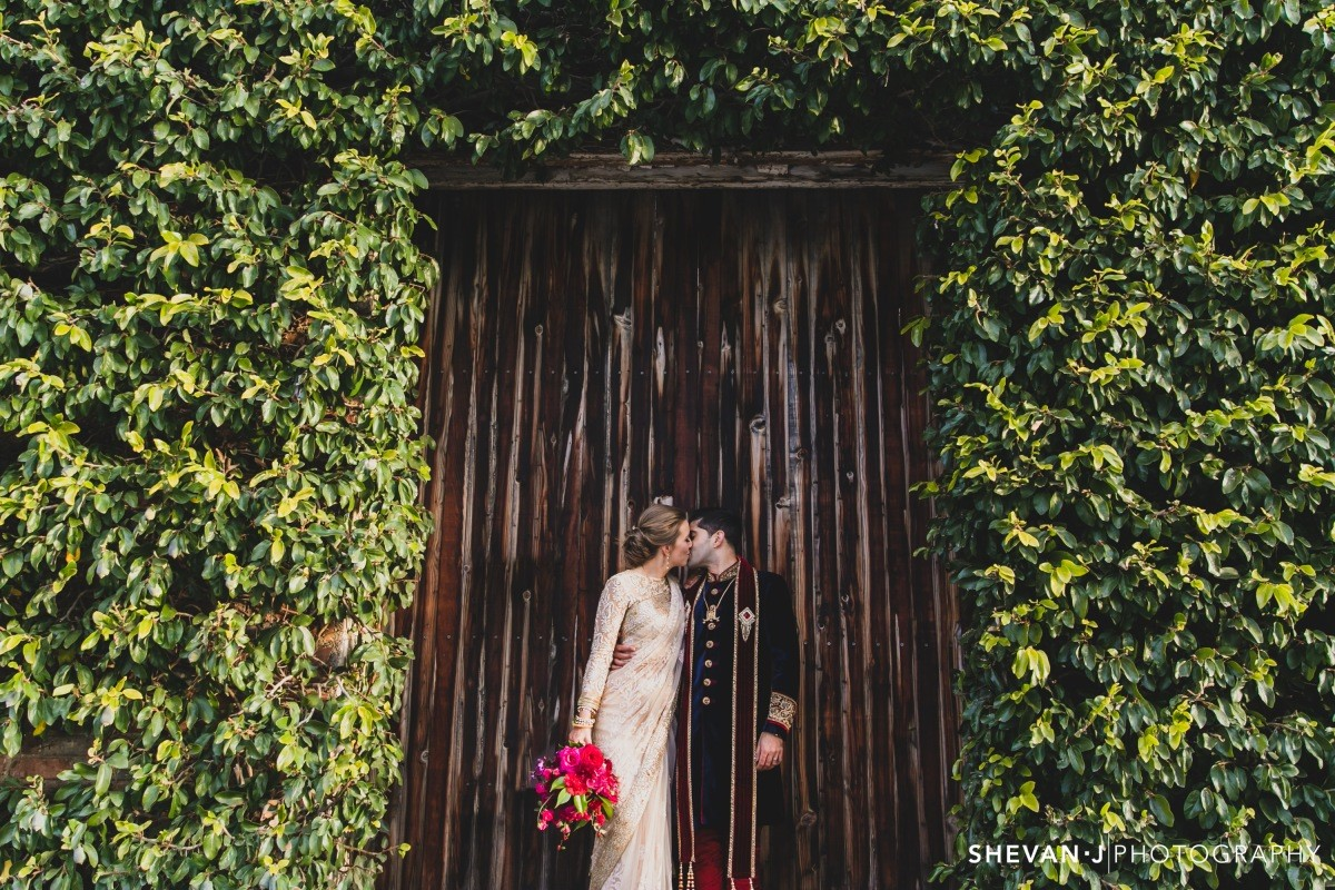 Polkadot Bride A bold and colourful wedding - Newport Substation