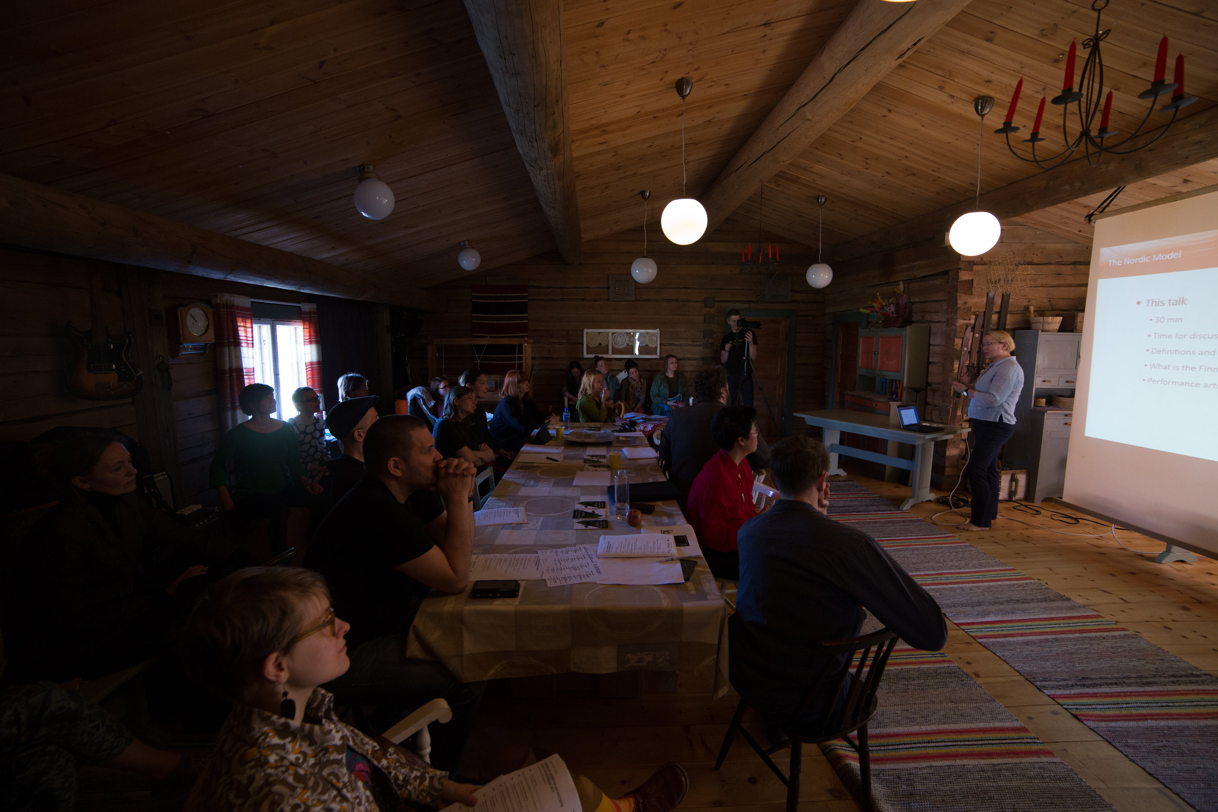 Seminar at Mummola Travels, Photo by Jouni Ihalainen