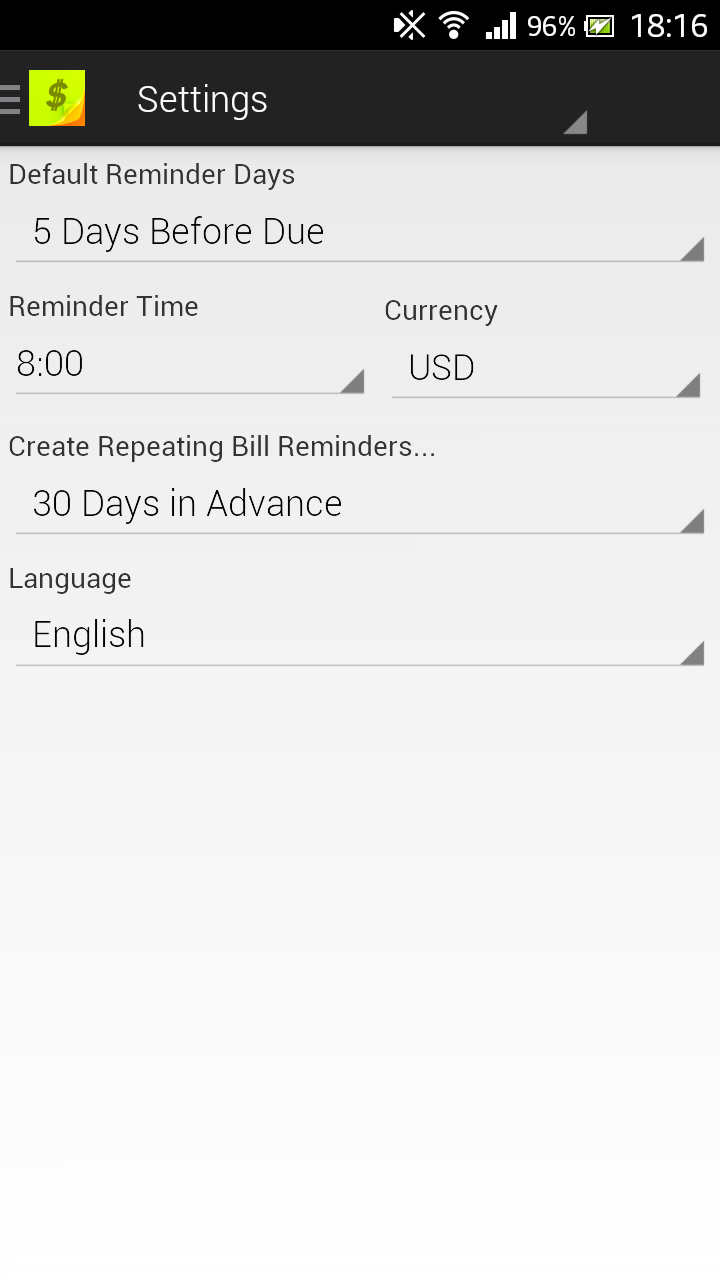 Handy_Apps_For_Life_Productivity_BillsReminder_settings.png